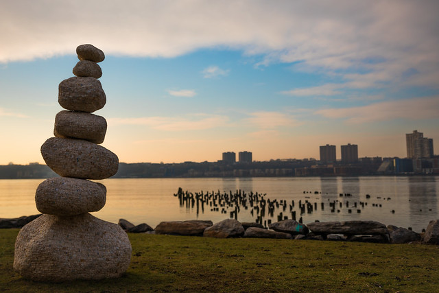 Cairns Along the Hudson, Canon EOS 5D MARK IV, Canon EF 300mm f/2.8L IS II USM