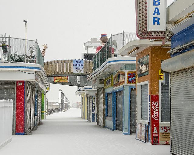 Snowy Boardwalk 12-30-17