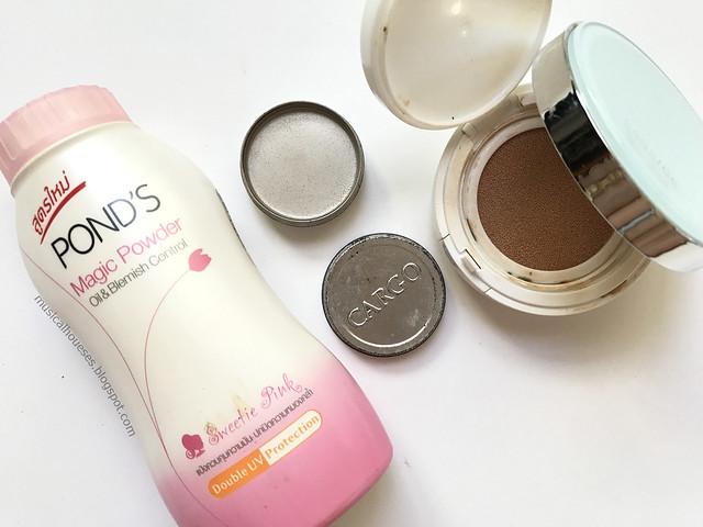 Empties Makeup