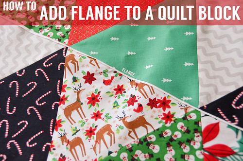 How To: Adding Flange to a Quilt Block