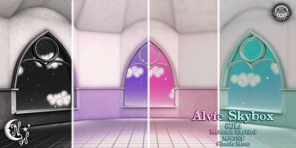 Alvie Skybox - Fatpack - TeleportHub.com Live!