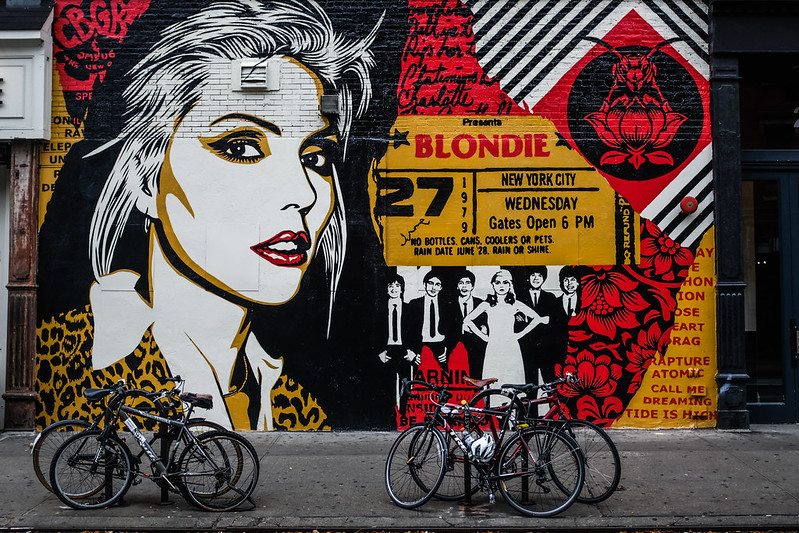 Walk In New York - NYC 2017 - Shepard Fairey's Blondie Tribute