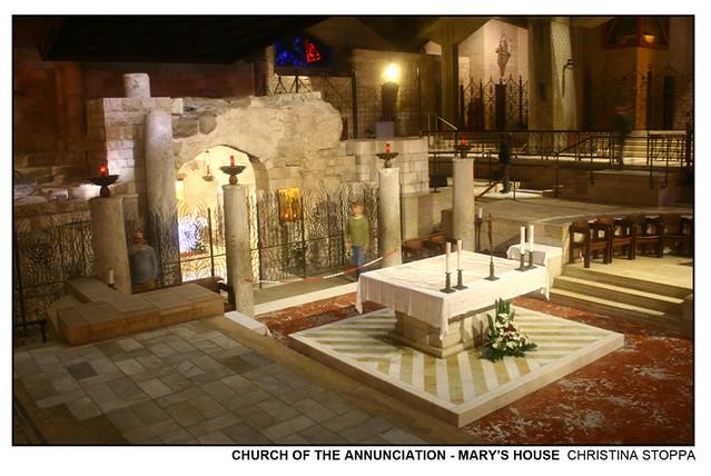 Church of the Annunciation - Mary's House