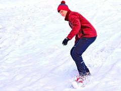 Snowboarding in PTC - M