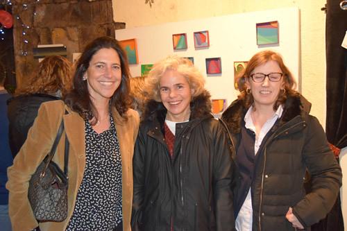 María Arcoha, Patricia Eguidazu y Begoña Olabarria