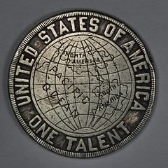 1896 Argentum Universale One Talent reverse