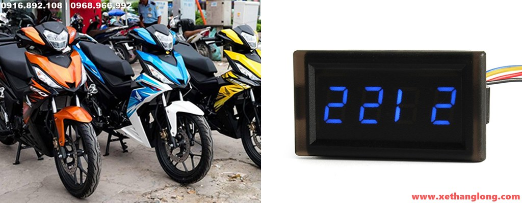 Đồng hồ xem giờ cho xe máy HONDA
