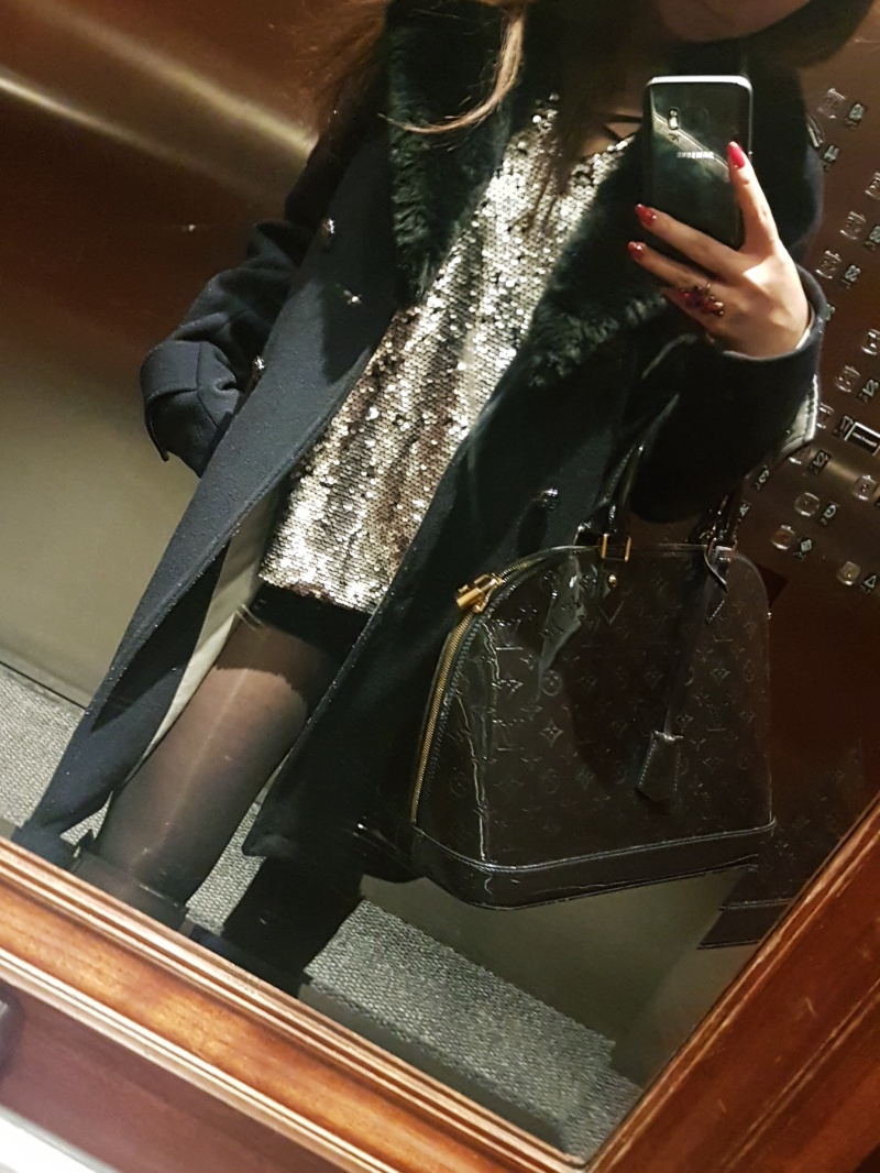 sequins outfit