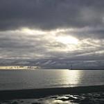2017:12:17 14:57:04 - Sonne, Wolken & Meer - Südstrand - Fehmarn