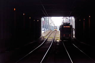 Trams on Route 14M