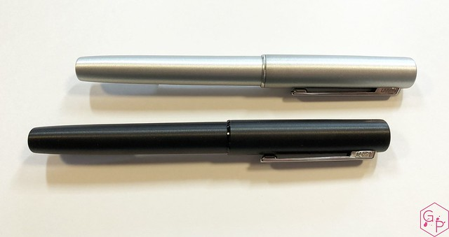Review Lamy Aion Fountain Pen - Black & Olive Silver @AppelboomLaren 4