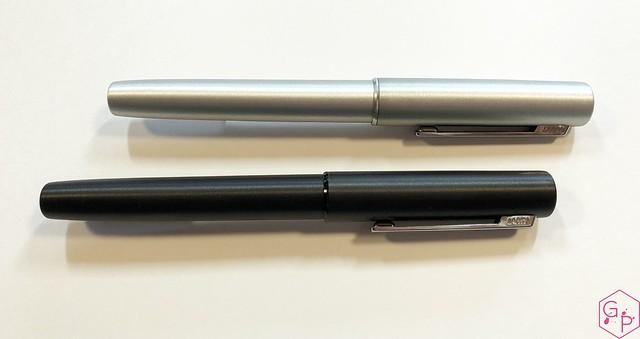 Review Lamy Aion Fountain Pen - Black & Olive Silver @AppelboomLaren 4