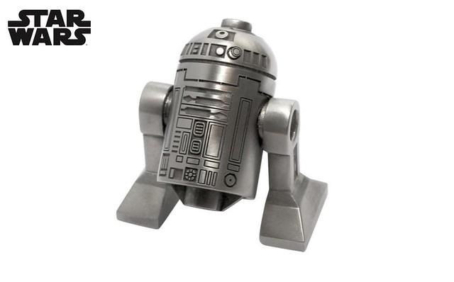 Ekskluzywna platynowa figurka R2-D2