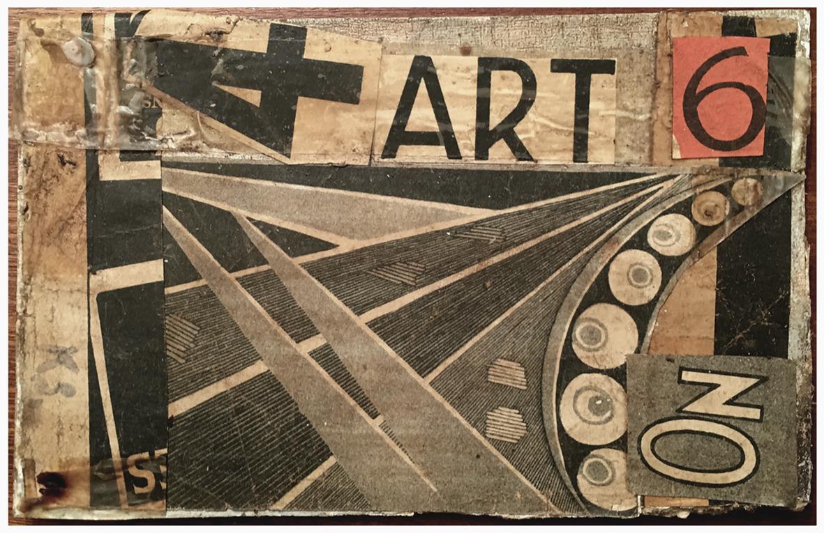 Kurt Schwitters - collage