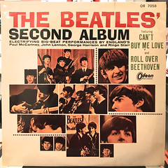 THE BEATLES:THE BEATLES SECOND ALBUM(JACKET A)