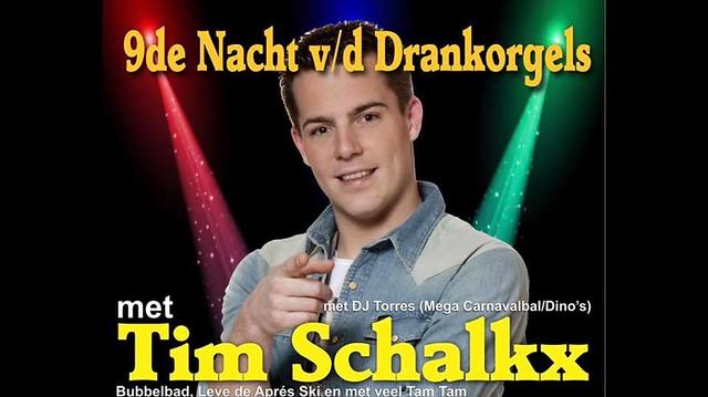 9de Nacht v/d Drankorgels met Tim Schalkx (Ravelingen, Heist) 06/01/2018