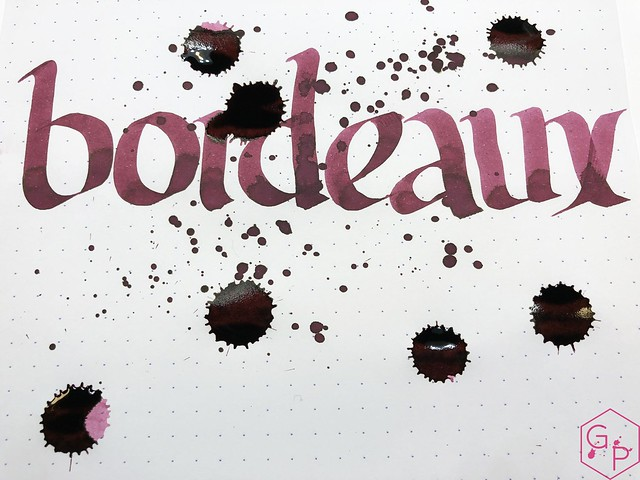 Ink Shot Review Kobe #6 Bordeaux @GoldspotPens 12