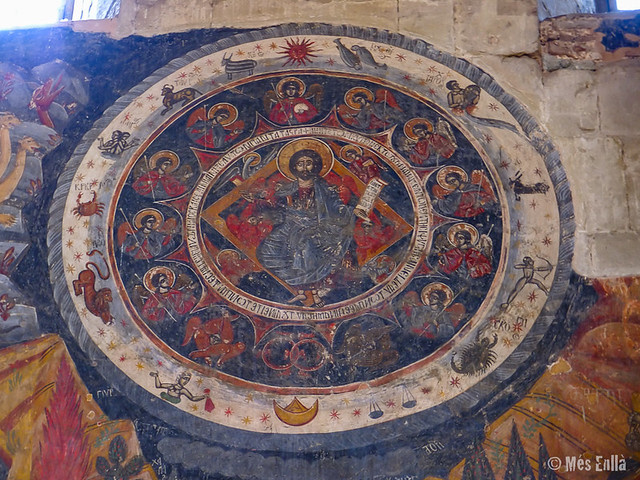 Mural en el interior de la catedral de Mtskheta
