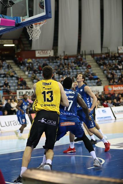 Liga Endesa: Gipuzkoa Basket-Canarias (89-70)