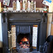 herts - warming real fire in chequers stevenage 09-12-17 JL