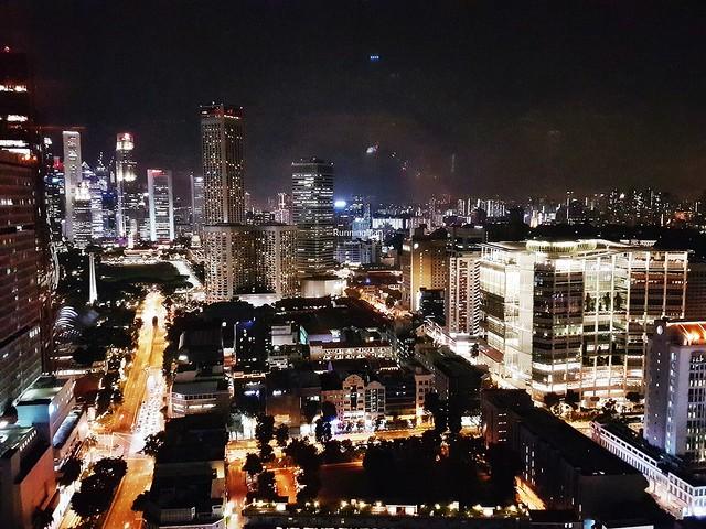 View Of Bugis, At Night