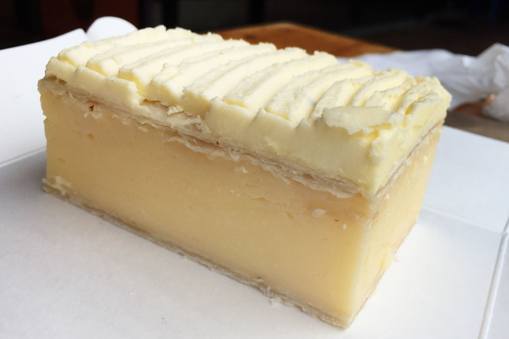 Vanilla slice: Oliver's Pies