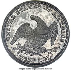 1838-O Half Dollar reverse
