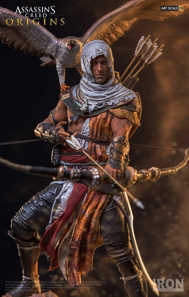 神秘古埃及的最後一位守護者! Iron Studios《刺客教條:起源》巴耶克 豪華版 Assassin's Creed: Origins Bayek Deluxe 1/10 比例全身雕像作品