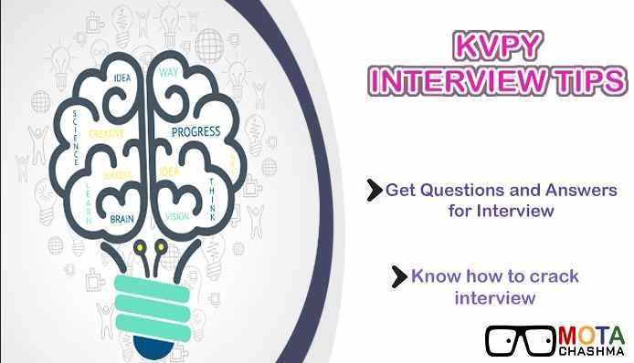 KVPY Interview Tips