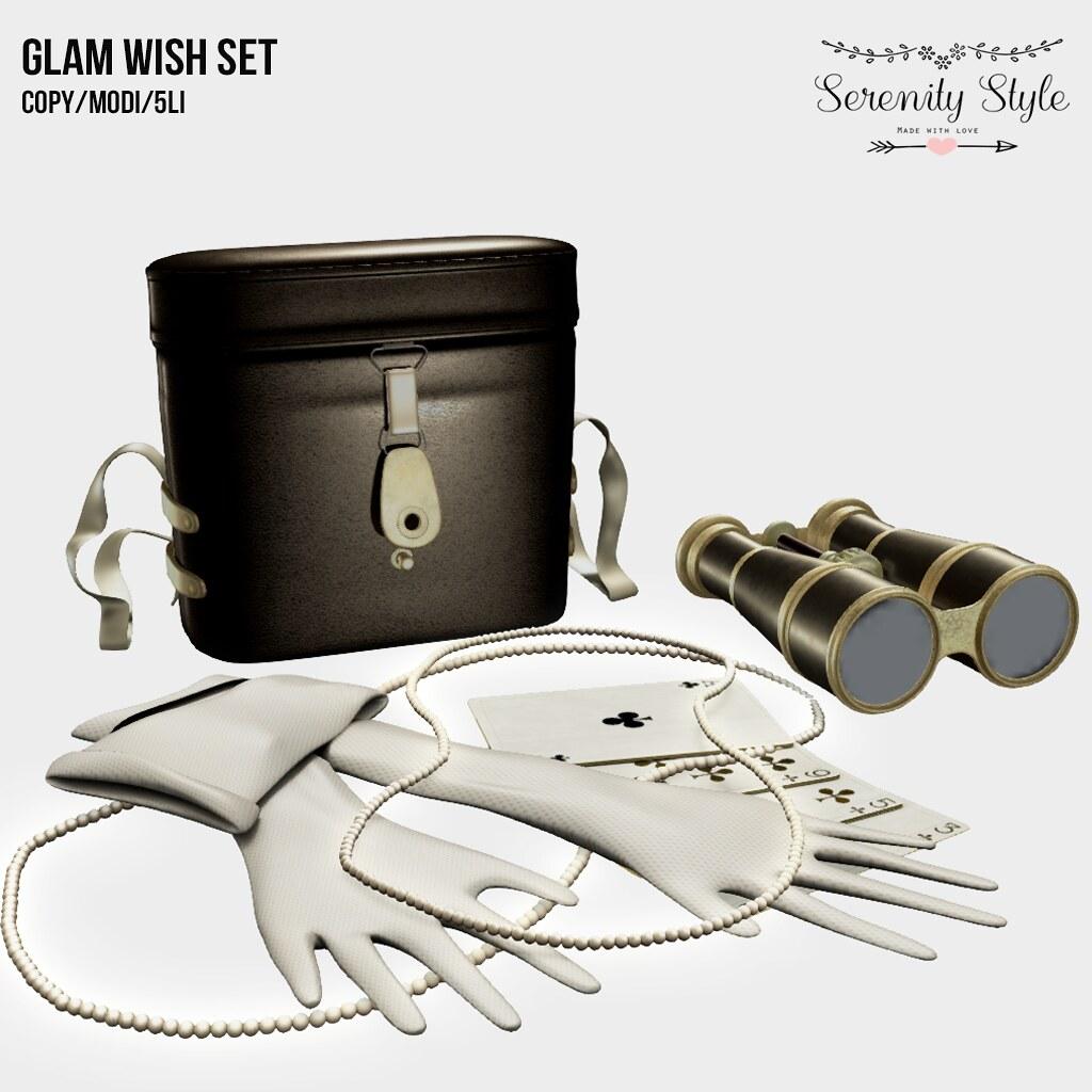 Serenity Style- Glam Wish Set - TeleportHub.com Live!