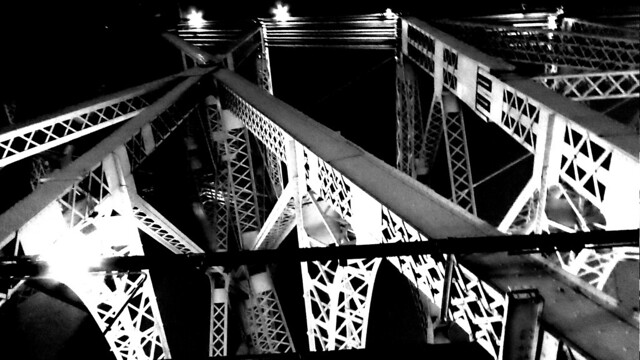 Queensboro Bridge B&W 2