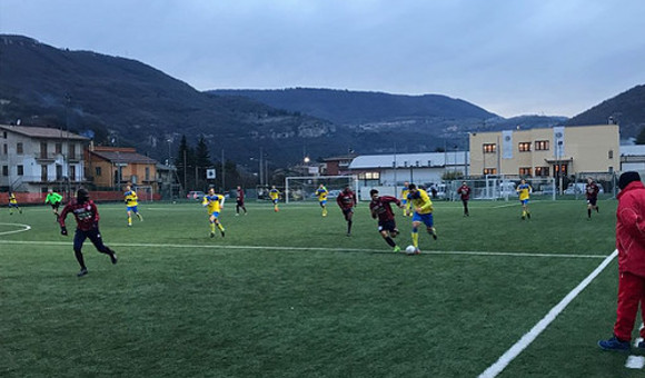 Amichevole, Virtus Verona - Levico 2-4 a Grezzana