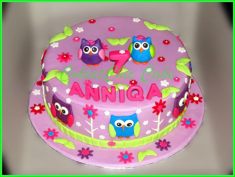 Cake Owl ANNIQA 24 cm