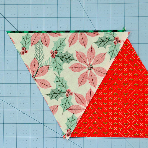 Repeat previous steps for more triangles.