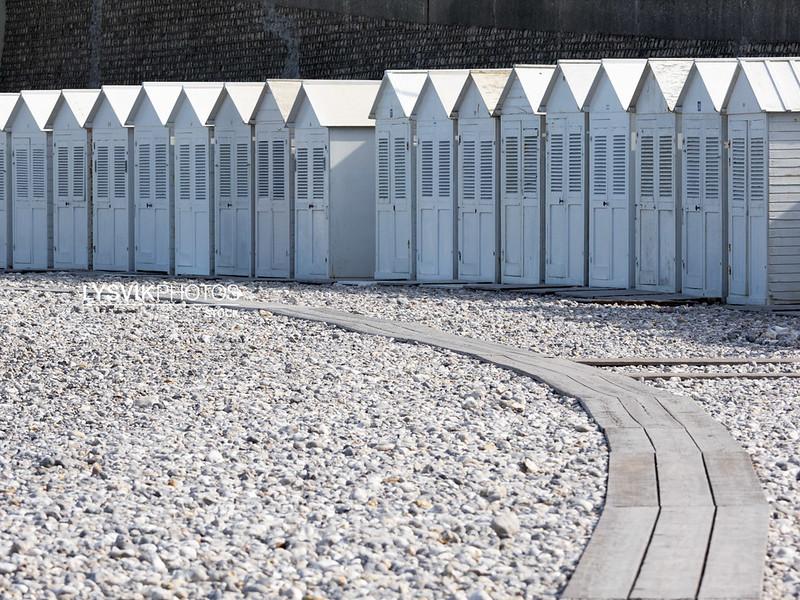 Beach houses Les Petites Dalles, Normandy