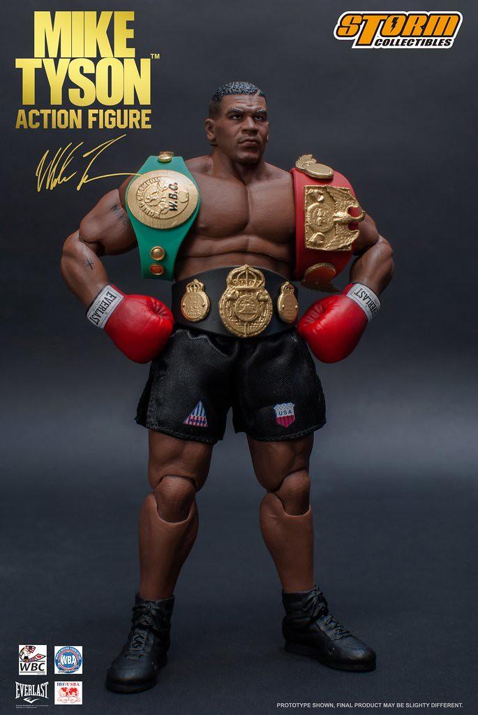 最年輕的世界重量級冠軍!! Storm Collectibles【麥克·泰森】Mike Tyson 1/12 比例可動人偶作品