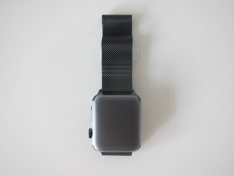 Apple Watch Series 3 Space Black Stainless Steel Case with Space Black Milanese Loop