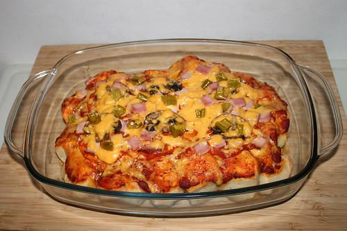 23 - Bubble Up Pizza Speciale - Finished baking / Fertig gebacken