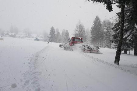 Skvělé sněhové podmínky v ČR před víkendem