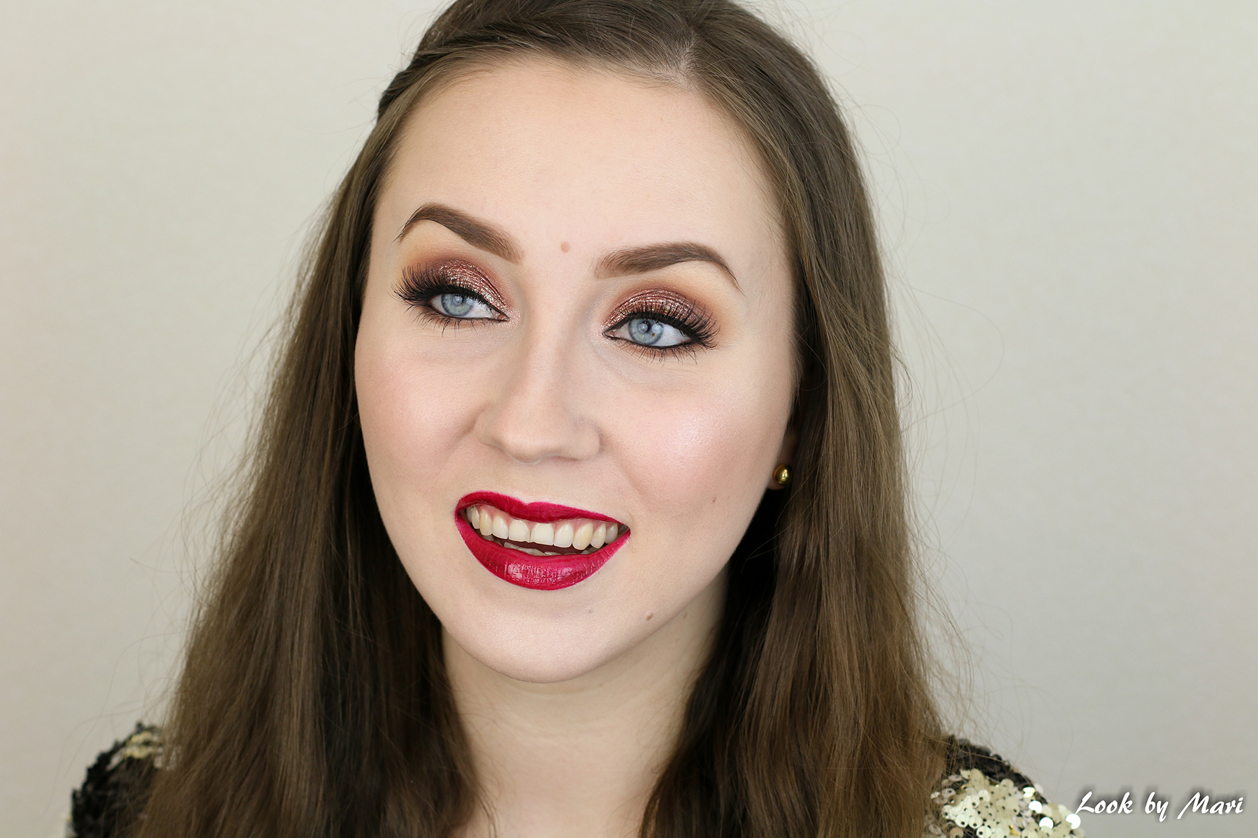 6 makeup geek peach smoothie creme brulee review swatches on pale skin