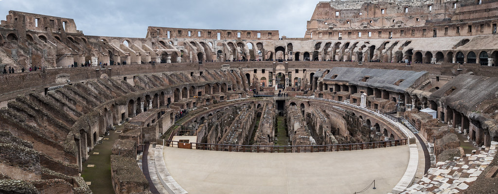 Inside the Colliseum