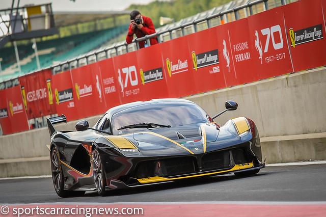 Ferrari FXXK Ferrari Race, Nikon D3, AF-S Nikkor 70-200mm f/4G ED VR