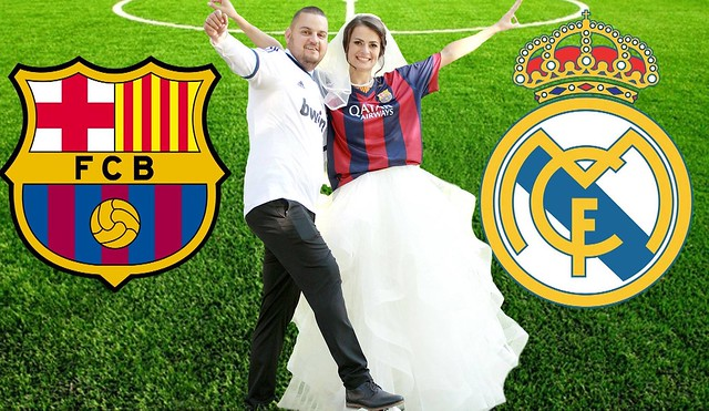 WEDDING DAY M BARCELONA - P REAL MADRID