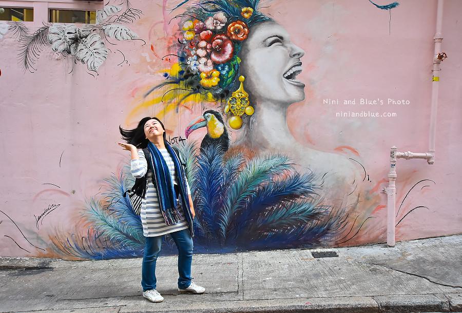 香港景點 舊城中環彩繪牆14