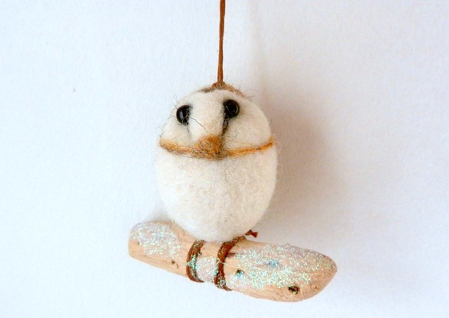 barn owl tree decoration, Nikon COOLPIX S9100