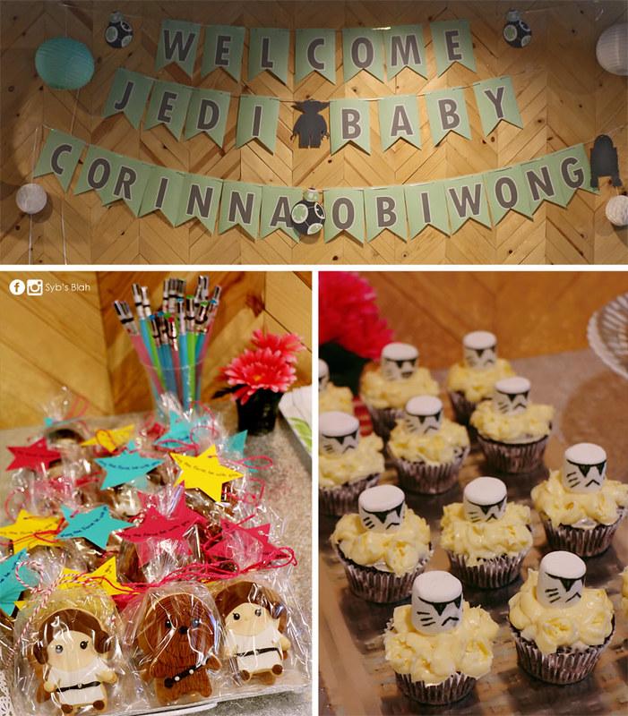 baby shower,新生兒派對,星際大戰主題派對