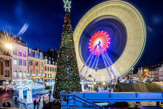 Xmas wheel / Rijsel (Lille) 2017