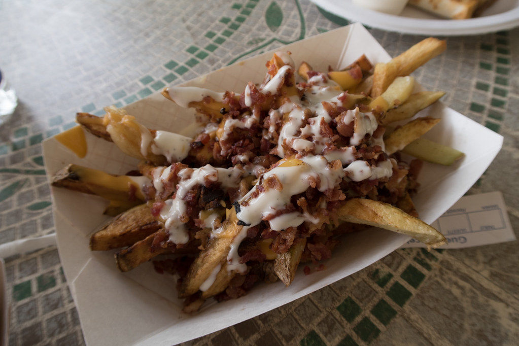 Bacon Ranch Cheese Fries
