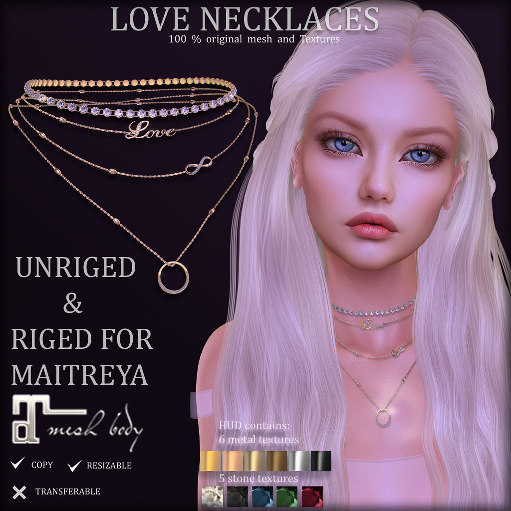 LOVE Necklaces ads (Soon at District 20)