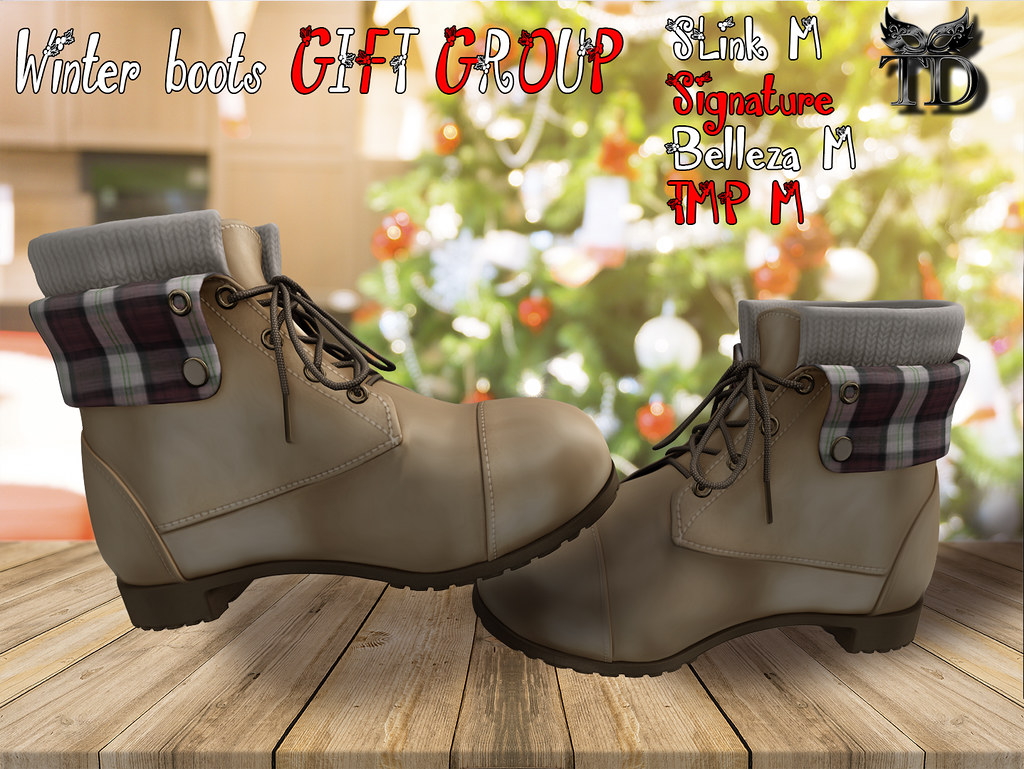 Winter Boots GIFT GROUP - TeleportHub.com Live!